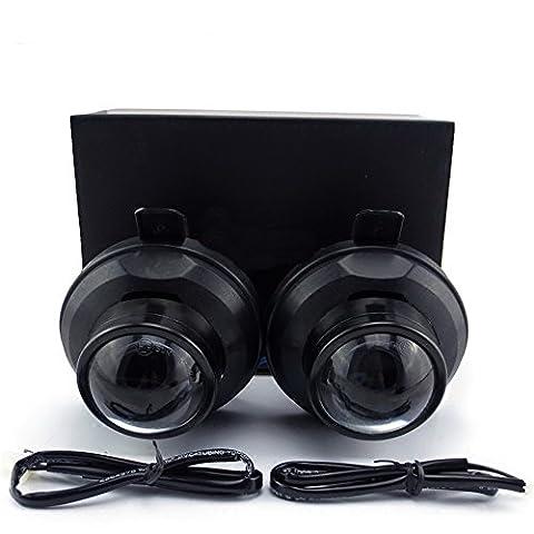 July King Car Bifocal Objektiv Nebelscheinwerfer Montage für Chevrolet Cruze 4D/5D 2008+,Orlando 2011+,Spark LS Model 2013+,Trax /Tracker 2013+