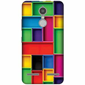 Lenovo K6 power Plastic Back Cover - Multicolor Designer Cases Cover By Printland