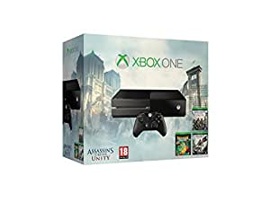 Xbox One: Console + Assassin's Creed Unity + Assassin's Creed Black Flag + Rayman Legends [Bundle Limited]