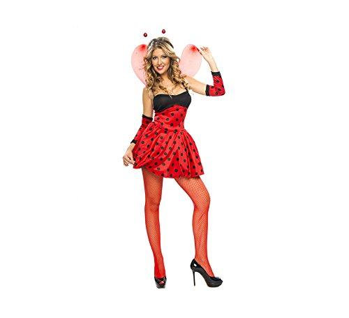 Disfraz de Mariquita para mujer (talla U)