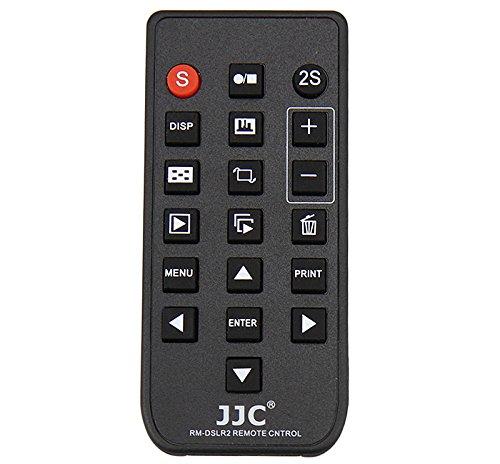 JJC RM-DSLR2 - Disparador inalámbrico Sony Alpha, Negro