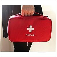 Tragbare leere Erste-Hilfe-Kit Tasche Home Office leere medizinische Tasche rot preisvergleich bei billige-tabletten.eu