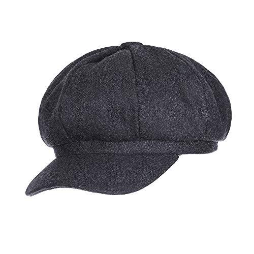 ERQINGBM Barett Trend Winter Hüte Für Frauen Französisch -