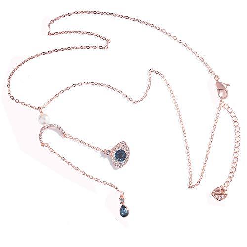 schen Augen Damen Halskette Halloween Mode Kreative Anhänger,1 ()