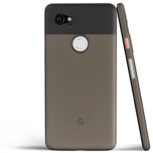 Pixel 2 XL Case, Thinnest Cover Premium Ultra Thin Light Slim Minimal Anti-Scratch Protective - for Google Pixel 2XL | totallee (Grey)