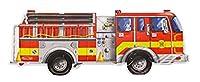 Melissa & Doug Giant Fire Truck Floor Jigsaw Puzzle (24 Pieces)