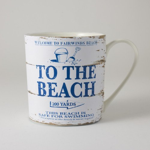 White Martin Wiscombe 1 The Piece Beach And Porcelain To MugBlue VGUqzMpLS