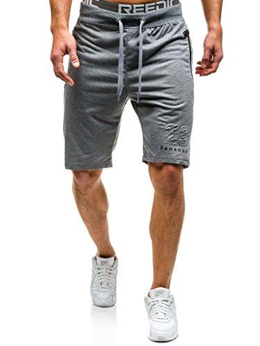 BOLF – Pantaloni sportivi – Jogging pantaloni – Uomo Grigio