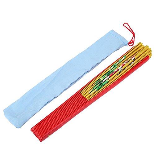 Fan de Bambú, Tai Chi Artes Marciales Kung Fu Bamboo Silk Fan...