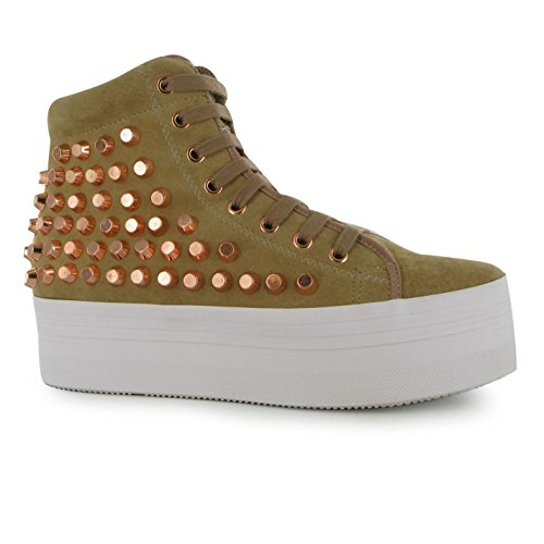 Jeffrey Campbell Donna Scarpe Play Homg Decorate Calzature per Donna con Nude/Rose