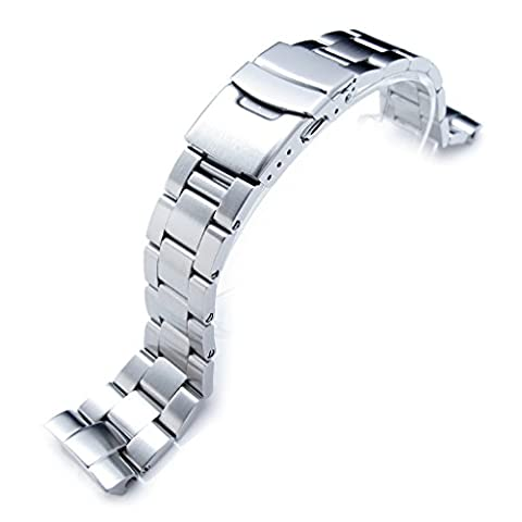 22mm Super Oyster Watch Bracelet for Seiko New Turtles SRP775
