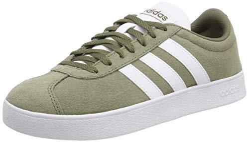 reputable site a6284 70816 adidas Vl Court 2.0, Zapatillas de Skateboard para Hombre, Verde (Raw Khaki