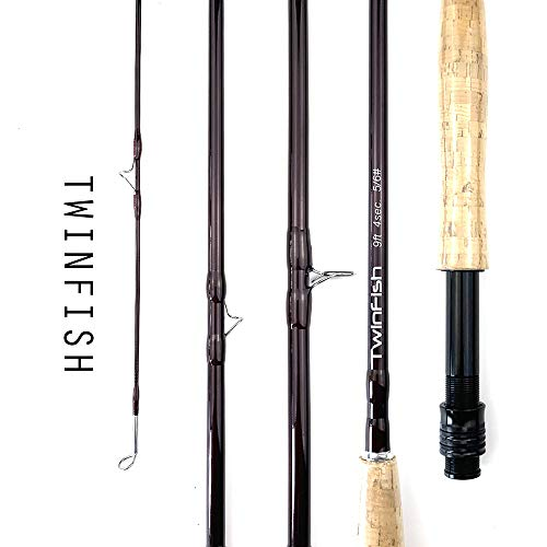 Fly Fishing 9 Feet 4 Carbon Fishing Rod Cork Straight Handle Ultra Lightweight Outdoor Sea Fishing Rod Boat Fishing, Storage 30