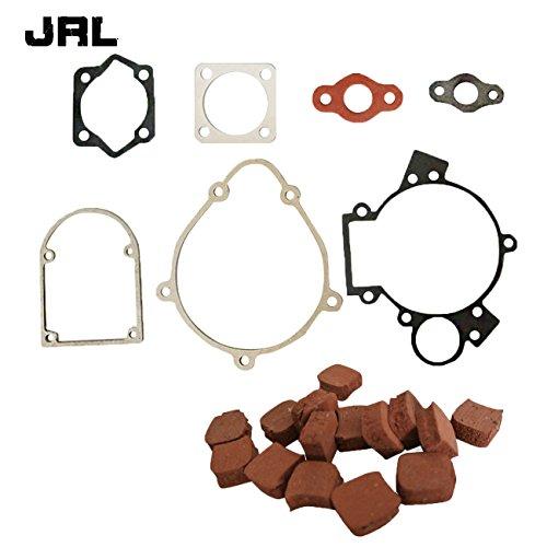 JRL 15x quadratisch Kupplung Pads & Dichtung Set Passform 80CC Motorisierte Fahrrad Bike Motor Motor (Motorisierte Fahrrad Kupplung)