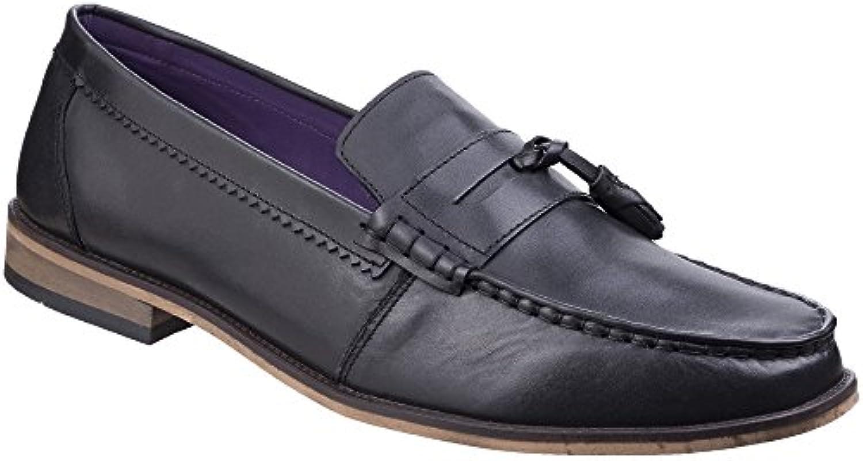 Lambretta Mens Portobello Loafer King Slip On Leather Durable Shoes