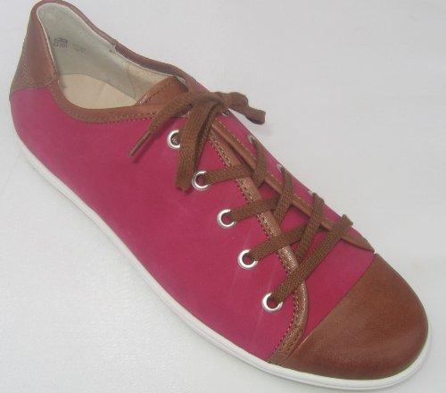 Semler C7086-194-561 donna Sneaker pelle Larghezza H cognac-magenta
