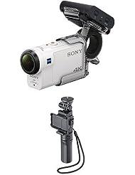 Sony FDR-X3000R 4K Action Cam with Boss (Exmor R CMOS Sensor, Carl Zeiss Tessar Appearance, GPS, WiFi, NFC)
