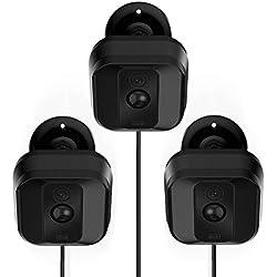 Mascarry Blink XT Kamera-Wandhalterung, wetterfest, 360-Grad-verstellbar, Halterung und Abdeckung für Blink XT Heim-Sicherheits-Kamera-System, Anti-Sonneneinstrahlung, UV-Schutz., BLACK(3 PACK)