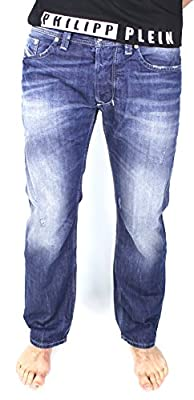 Diesel Men's Larkee L.34 Pantaloni Straight Jeans