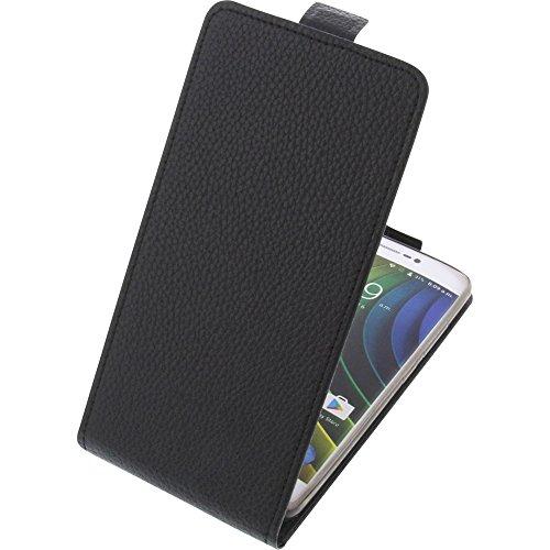 foto-kontor Tasche für Creev Mark V Plus Smartphone Flipstyle Schutz Hülle schwarz