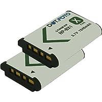 2 x Dot.Foto Batterie de qualité pour Sony NP-BX1, NPBX1, NP-BX1.CE - 3,7v / 1240mAh - Entièrement 100% compatibles - garantie de 2 ans [Pour la compatibilité voir la description]