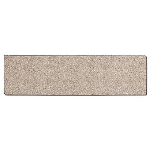 casa pura® Shaggy Carpet Floor Runner, Bali - Cream | Customisable Width & Length | Matching Stair Treads Avail. (140 x 300 cm)