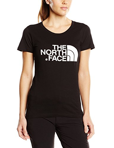 THE NORTH FACE T-Shirt W Short Sleeve Easy Tee Damen, TNF Black, XS -