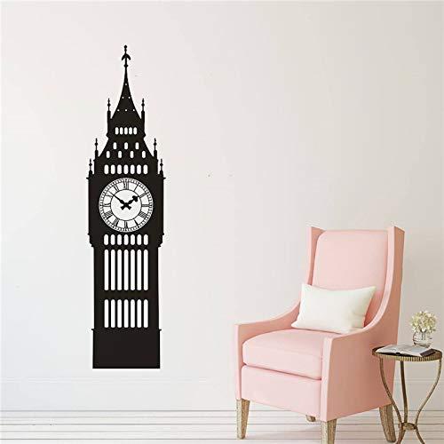 Big Ben Clock Wandtattoo Vinyl Wandkunst Aufkleber Wohnkultur Büro Wohnzimmer Schlafzimmer London Art Poster Wohnkultur 56 * 224 cm