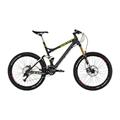 Shockblaze BK12SB0910 Skin Am Elite Mountain Bike, Nero