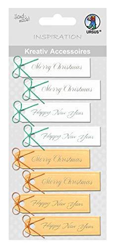 Ursus 56400081creativos Accesorios Merry Christmas y Happy New Year