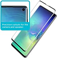 Tempered Screen Protector for Samsung Galaxy S10, [Ultrasonic Fingerprint Compatible] Anti-Scratch Glass Prote