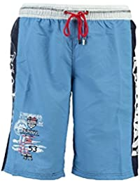Geographical Norway–Geographical Norway quepi Swimsuit Men Sky Blue