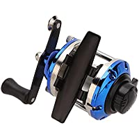Valoxin(TM) Nuova Mini 3.6: 1 destra / mano sinistra Bait rotella di pesca intercambiabile Casting Reel Fishing ingranaggi per Ice Fishing