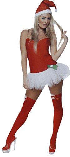 Weihnachtsfrau Kostüm Sexy für Damen S