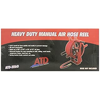 ATD Tools 31160 Manual Air Hose Reel by ATD Tools