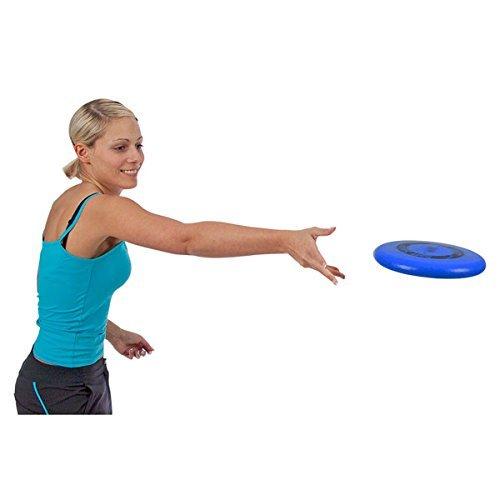 Volley® Soft Saucer Schaumstoff Frisbee (blau)