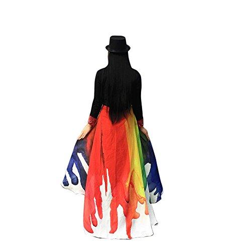 Lazzboy Kostüm Zubehör Weiche Stoff Pfau Flügel Schal Fee Damen Nymphe ()