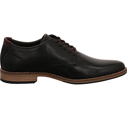 BULLBOXER  773k25263b2495su00, Chaussures de ville à lacets pour homme Noir