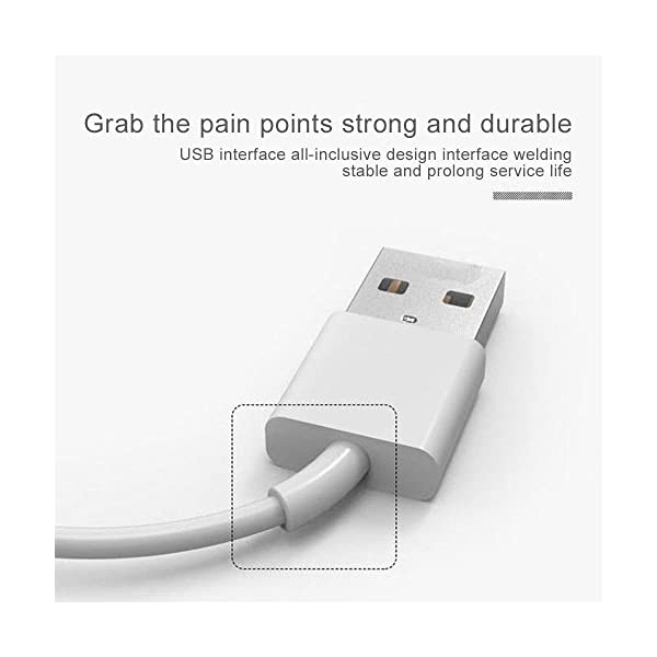 Teepao Smart Watch - Cable de carga para reloj inteligente G3 GT88 KW08 KW18 con 4 pines, cargador magnético con ventosa… 7