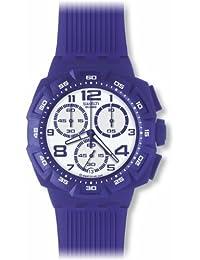 Swatch Herrenuhr-Chronograph Purple Funk SUIV400