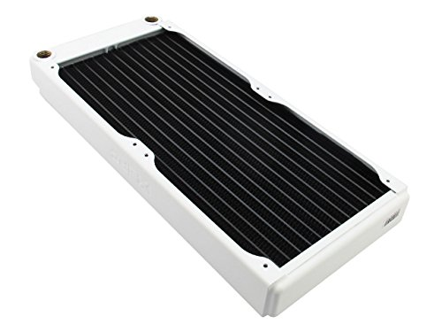 XSPC Low Profile Radiator EX280-280mm, weiß - Xspc Pc-radiator Von