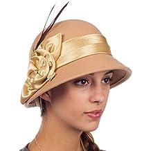 Sakkas Cappello Cloche di lana vintage Danielle 5835df8488eb