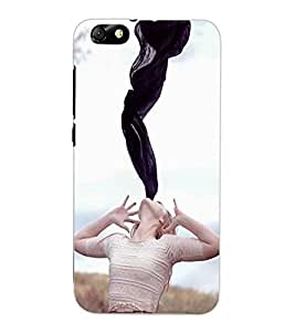 ColourCraft Creative Image Design Back Case Cover for HUAWEI HONOR 4X