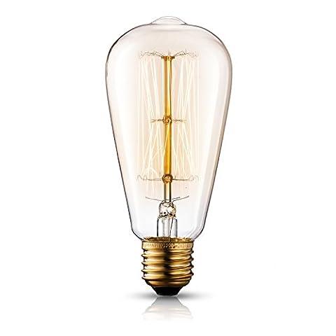 TRANSTEC® ST64 Vintage Edison Glühfaden Birne -