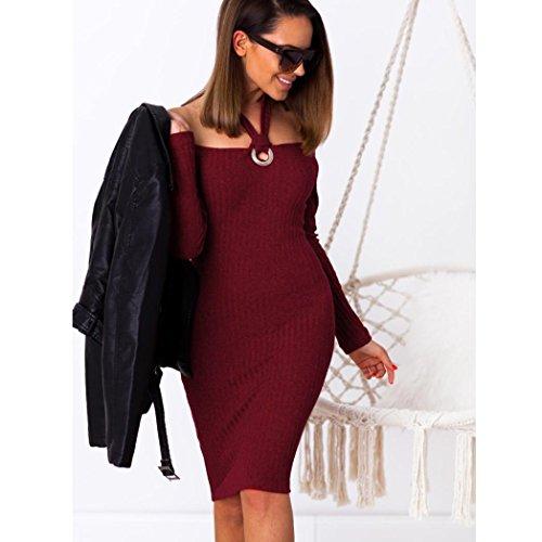 Homebaby Off Spalla Abiti Da Cerimonia Donna Eleganti Sottile Sera Abito  Lungo Vestito Elegante Completo Vestiti ... 46061fbb452