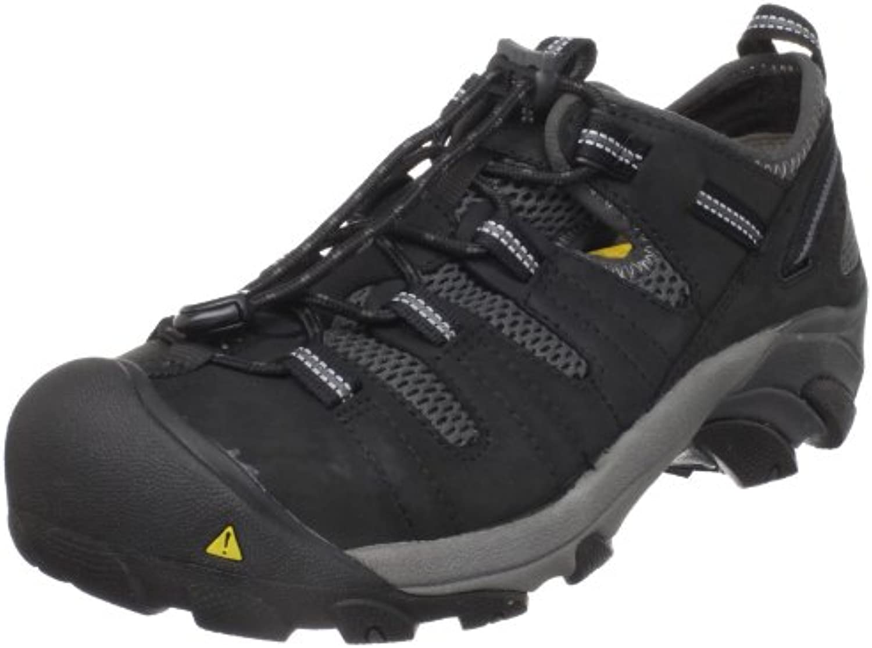 Keen Utility Men's Atlanta Cool Steel Toe Work Shoe Shitake 12 D US