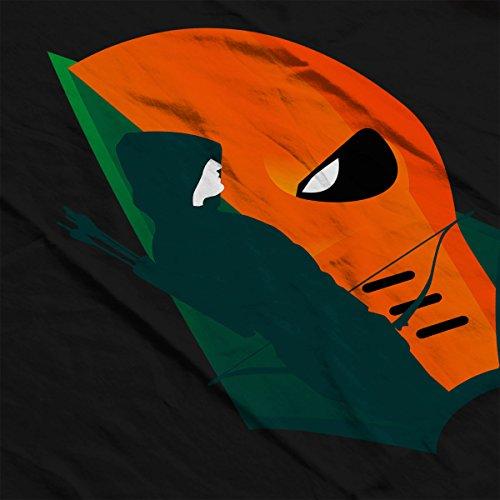 Arrow Deathstroke Montage Women's Hooded Sweatshirt Black