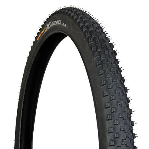 51f86b48bfa3 Continental Unisex's X King 2.2 Performance Tyre, Black, Size 27.5 x 2.2
