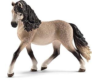 Schleich- Figura de Caballo, Yegua Andaluza, Color Marrón, 10,7 cm