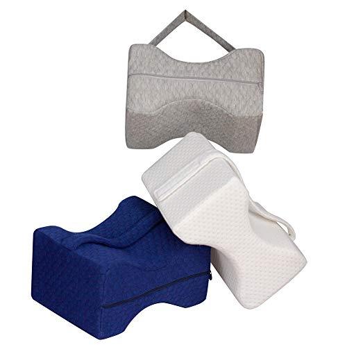 FR&RF Griff Leg Pad Memory-Schaum-Kissen-Bügel-Kissen Mutterschaft Shaping Leg Pad,Blau -